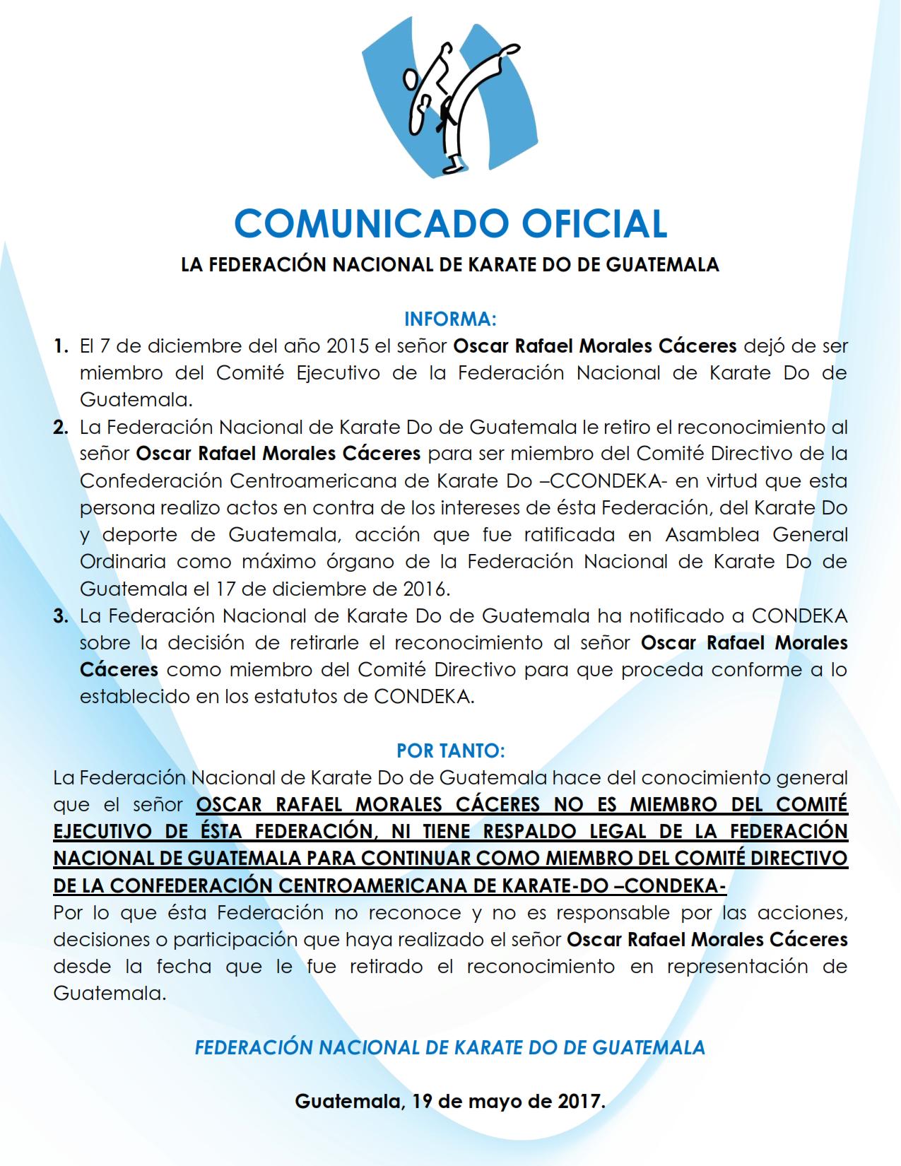 COMUNICADO OFICIAL2 001