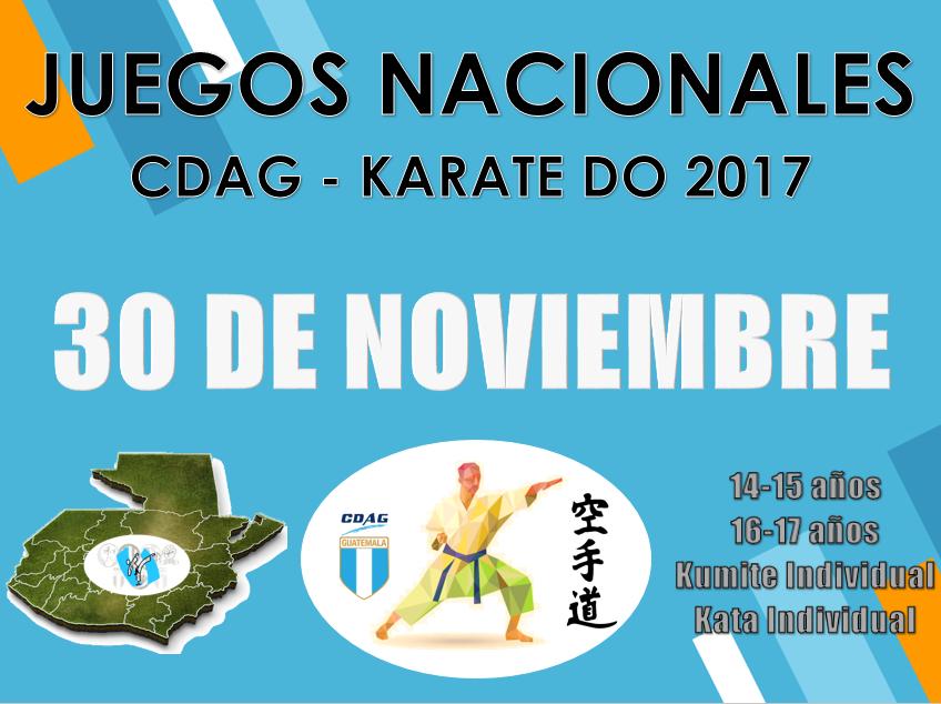 juegos nacionales 2017
